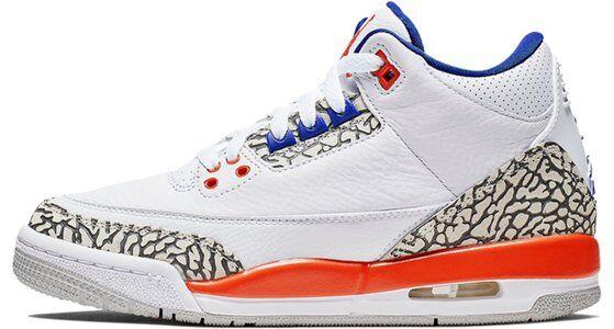Air Jordan 3 Retro GS Knicks 籃球鞋/運動鞋 (398614-148) 海外預訂