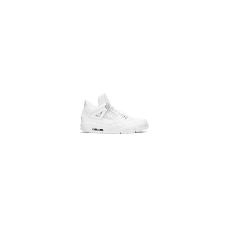 Air Jordan 4 Retro '25th Silver Anniversary' White/Metallic Silver 籃球鞋/運動鞋 (408202-101) 海外預訂