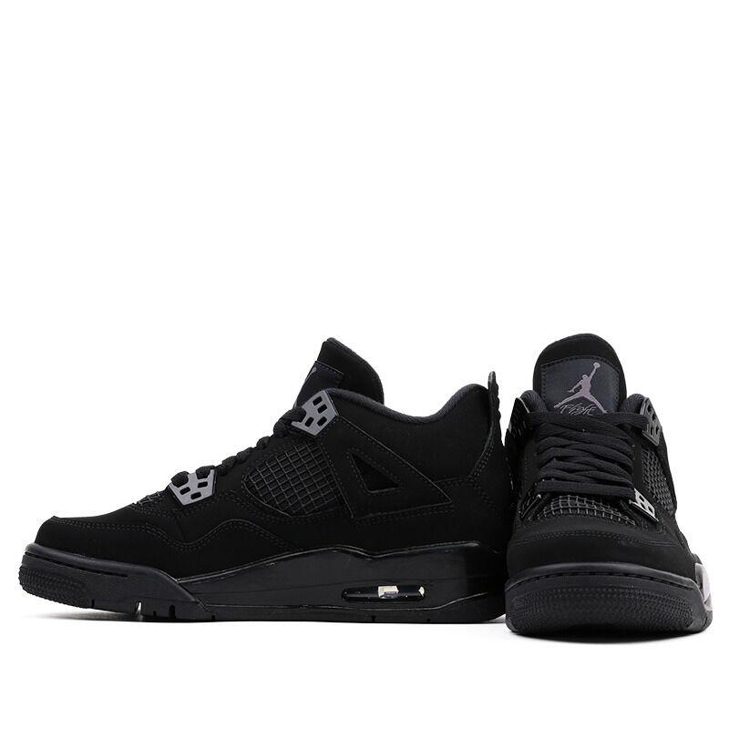 Air Jordan 4 Retro GS Black Cat 籃球鞋/運動鞋 (408452-010) 海外預訂
