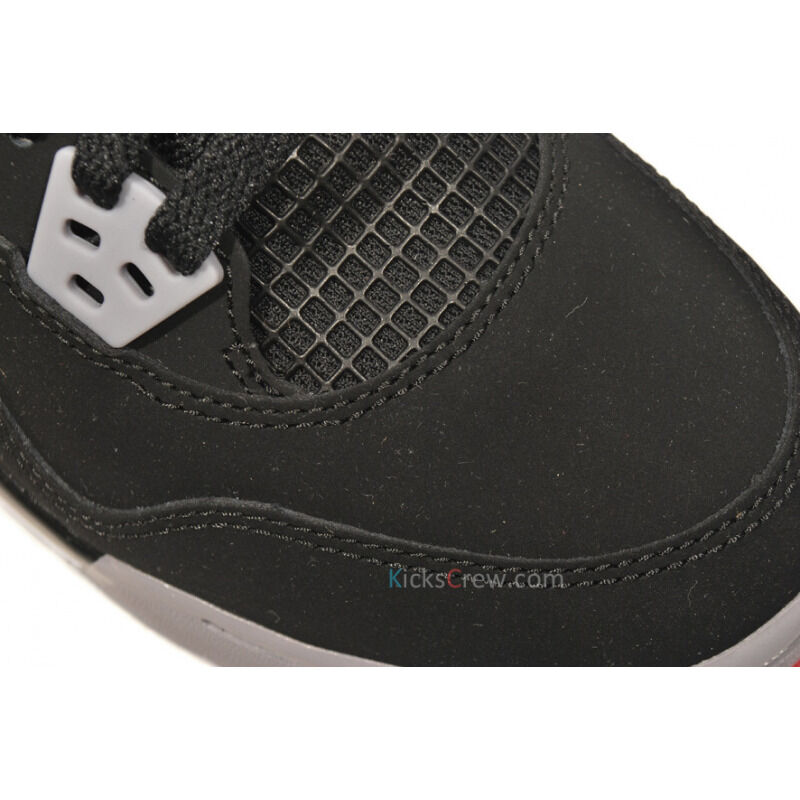 Air Jordan 4 Retro GS Black Fire Red 籃球鞋/運動鞋 (408452-089) 海外預訂