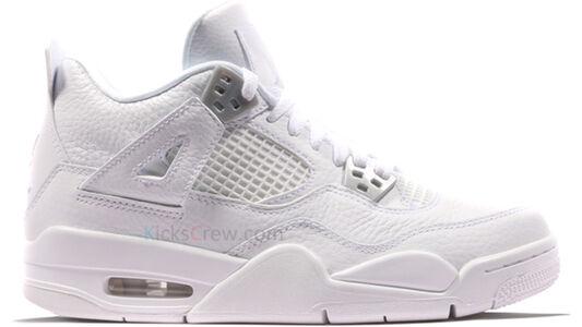 Air Jordan 4 Retro BG Pure Money 籃球鞋/運動鞋 (408452-100) 海外預訂