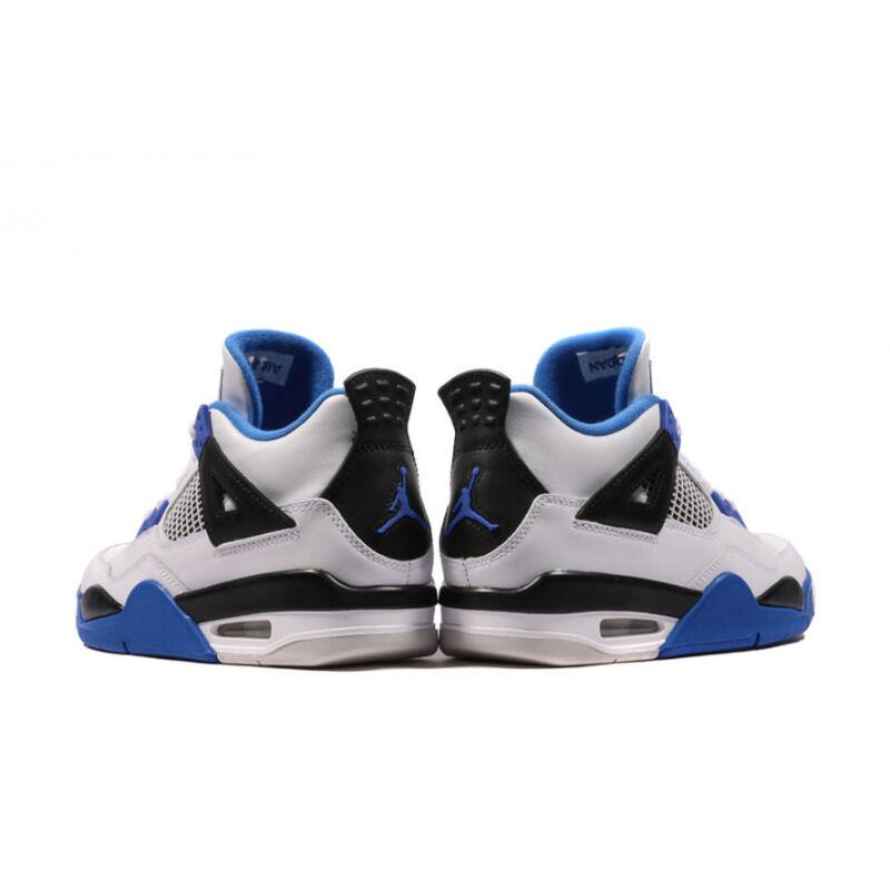 Air Jordan 4 Retro BG White - Motorsports 籃球鞋/運動鞋 (408452-117) 海外預訂