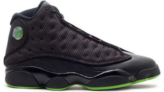 Air Jordan 13 Retro 'Altitude' 2010 Black/Altitude Green 籃球鞋/運動鞋 (414571-002) 海外預訂