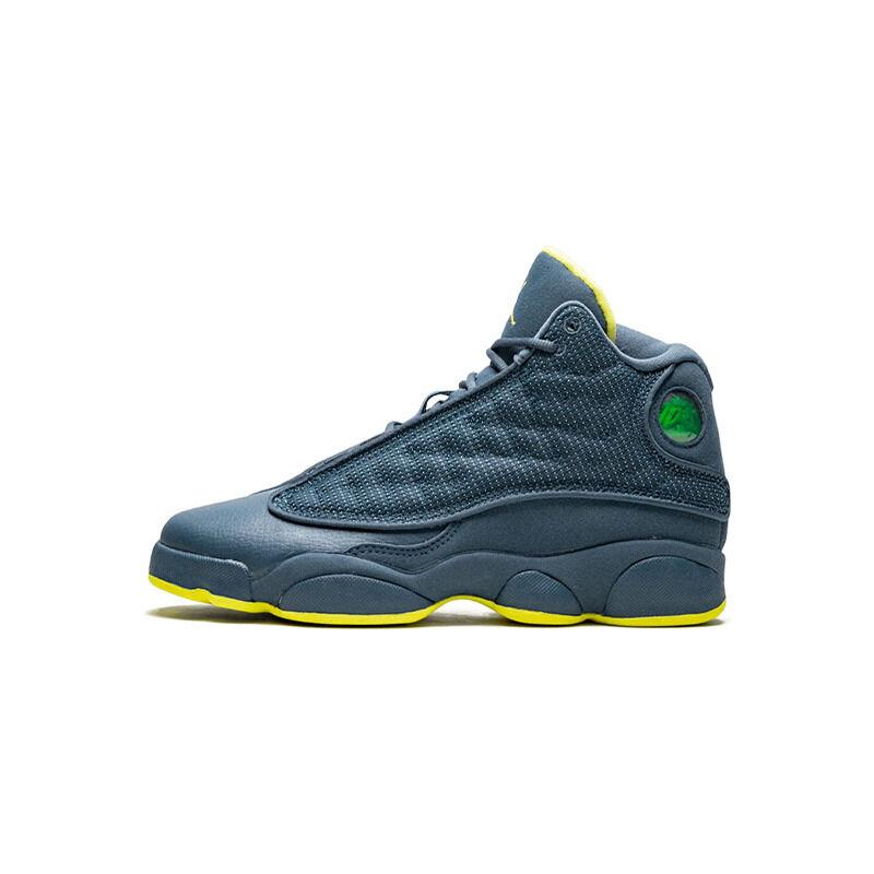 Air Jordan 13 Retro GS 'Squadron' Squadron Blue/Electric Yellow/Black 籃球鞋/運動鞋 (414574-405) 海外預訂