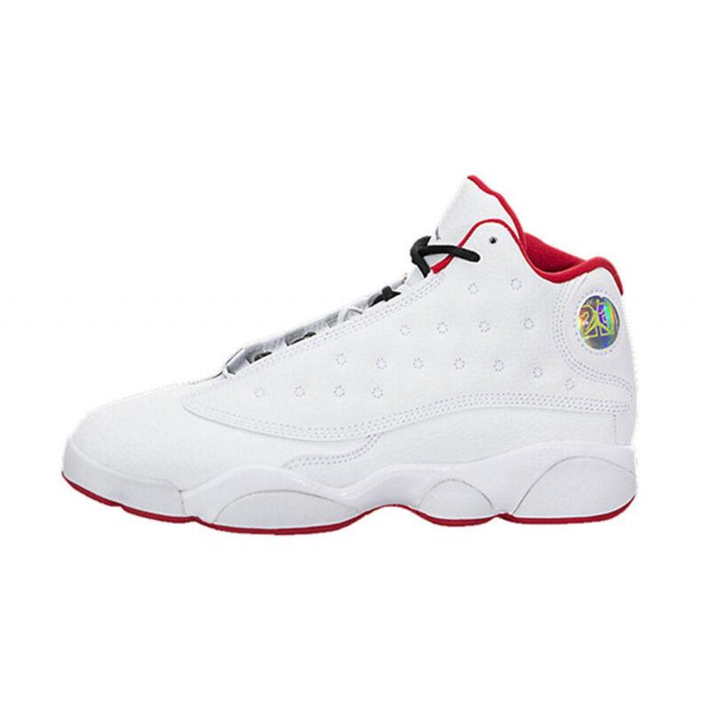 Air Jordan 13 Retro PS 'History of Flight' White/University Red/Metallic Silver 籃球鞋/運動鞋 (414575-103) 海外預訂