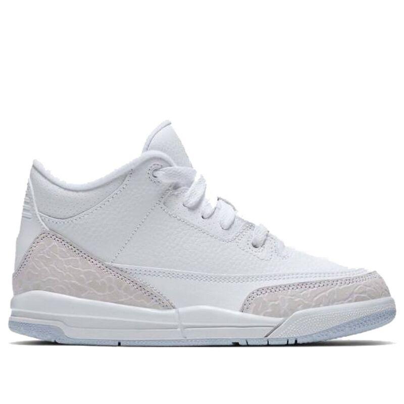 Air Jordan 3 Retro BP White 籃球鞋/運動鞋 (429487-111) 海外預訂