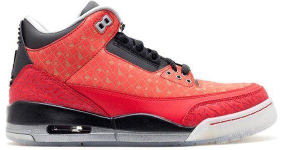 Air Jordan 3 Retro 'Doernbecher' 2013 Varsity Red/Metallic Silver-Black 籃球鞋/運動鞋 (437536-600) 海外預訂