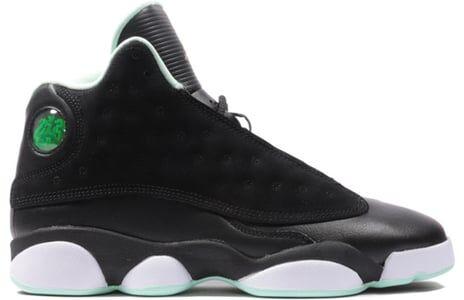 Air Jordan 13 Retro GG Black Mint Foam 籃球鞋/運動鞋 (439358-015) 海外預訂