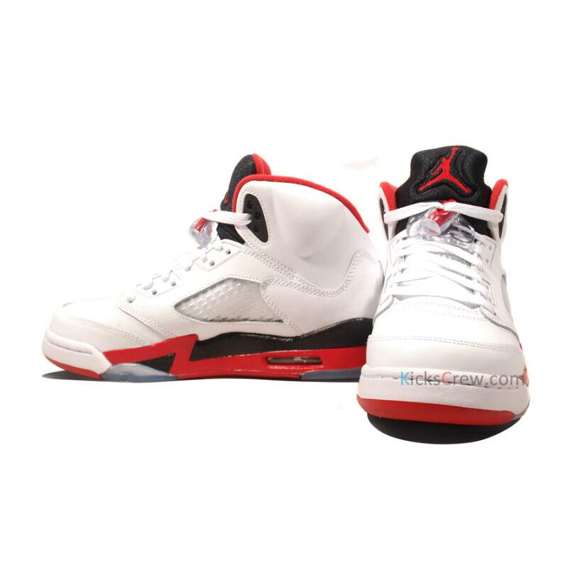Air Jordan 5 Retro GS Fire Red Black Tongue 籃球鞋/運動鞋 (440888-120) 海外預訂