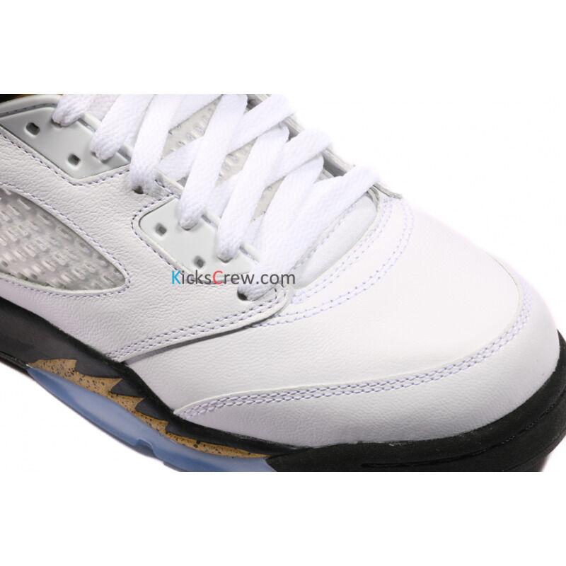 Air Jordan 5 Retro GS Olympic Gold Tongue 籃球鞋/運動鞋 (440888-133) 海外預訂