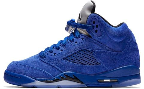 Air Jordan 5 Retro GS Blue Suede 籃球鞋/運動鞋 (440888-401) 海外預訂