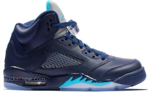 Air Jordan 5 Retro GS Hornets 籃球鞋/運動鞋 (440888-405) 海外預訂