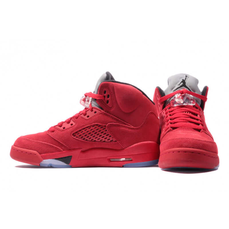Air Jordan 5 Retro BG Flight Suit - Red Suede 籃球鞋/運動鞋 (440888-602) 海外預訂