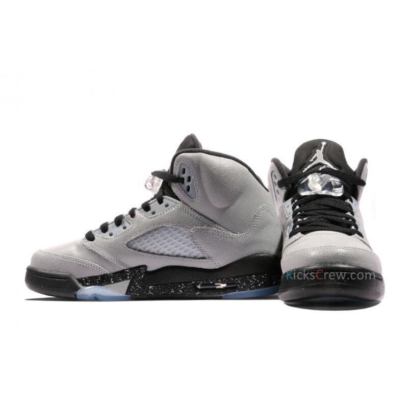 Air Jordan 5 Retro GG Wolf Grey 籃球鞋/運動鞋 (440892-008) 海外預訂