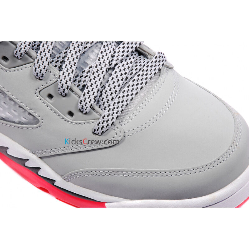 Air Jordan 5 Retro GG Wolf Grey Hot Lava 籃球鞋/運動鞋 (440892-018) 海外預訂