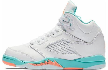 Air Jordan 5 Retro GP Light Aqua 籃球鞋/運動鞋 (440893-100) 海外預訂