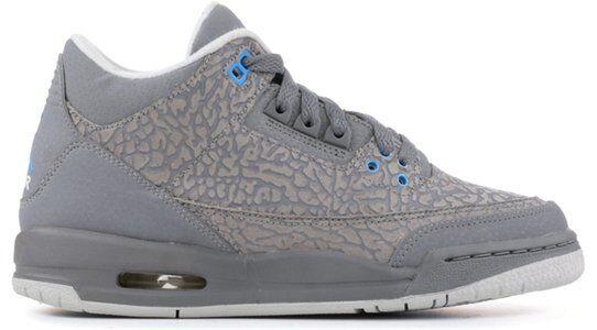 Air Jordan 13 Retro GS Cool Grey Blue Glow 籃球鞋/運動鞋 (441140-015) 海外預訂