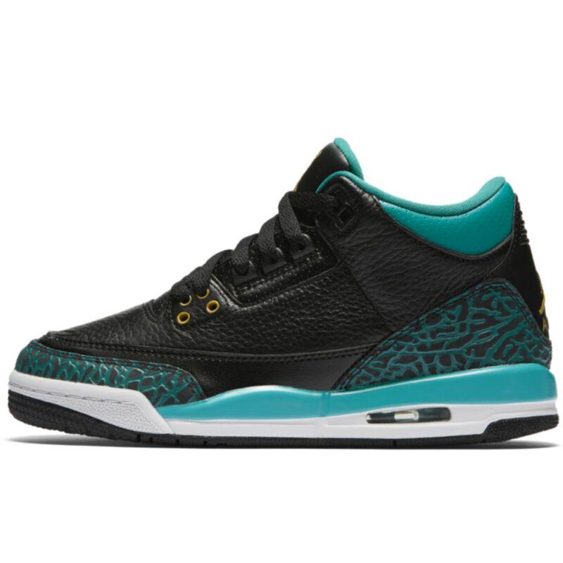 Air Jordan 3 Retro GG Black Rio Teal 籃球鞋/運動鞋 (441140-018) 海外預訂