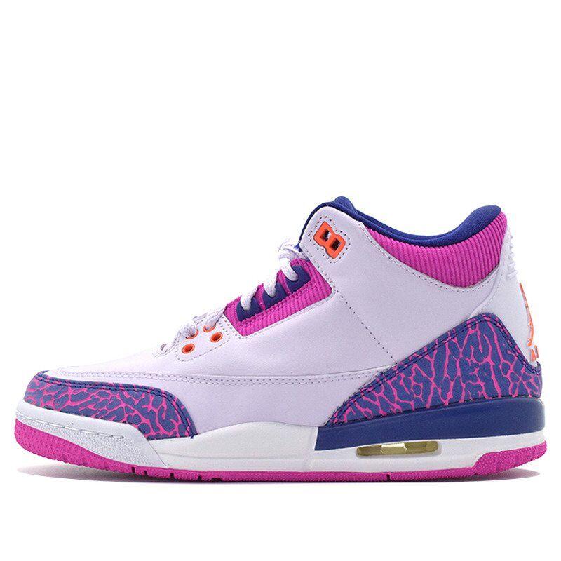 Air Jordan 3 Retro GS Barely Grape 籃球鞋/運動鞋 (441140-500) 海外預訂
