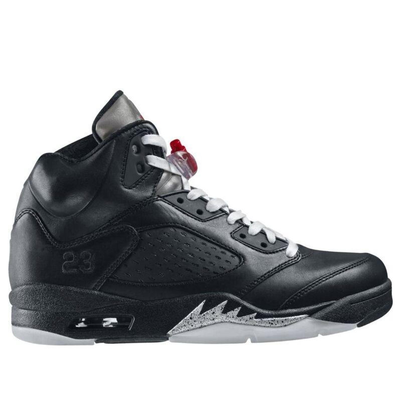 Air Jordan 5 Retro Premio 'Bin23' Black/Black-Metallic Silver 籃球鞋/運動鞋 (444844-001) 海外預訂