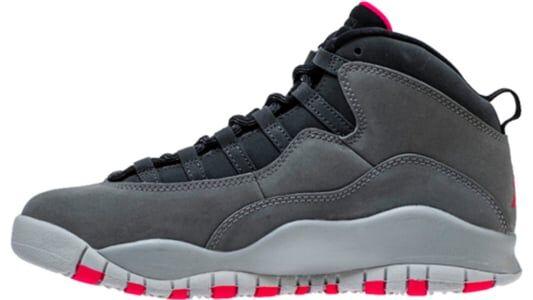 Air Jordan 10 Retro GS Smoke Grey 籃球鞋/運動鞋 (487211-006) 海外預訂