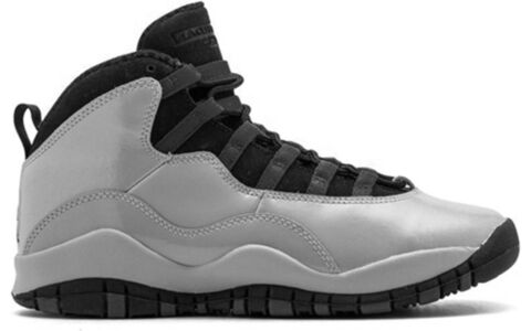 Air Jordan 10 Retro GG 'Legion Red' Wolf Grey/Black-Legion Red 籃球鞋/運動鞋 (487211-009) 海外預訂