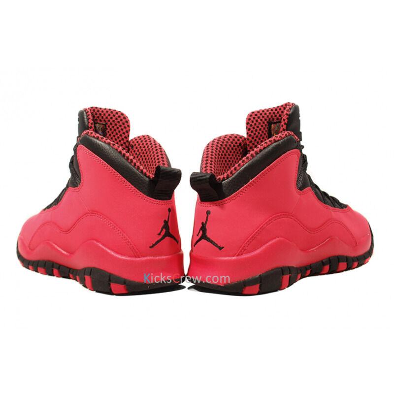 Girls Air Jordan 10 Retro GS Fusion Red Black 籃球鞋/運動鞋 (487211-605) 海外預訂
