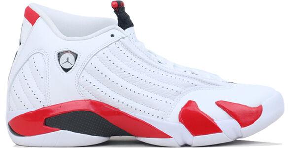 Air Jordan 14 Retro White Varsity Red 籃球鞋/運動鞋 (487471-100) 海外預訂