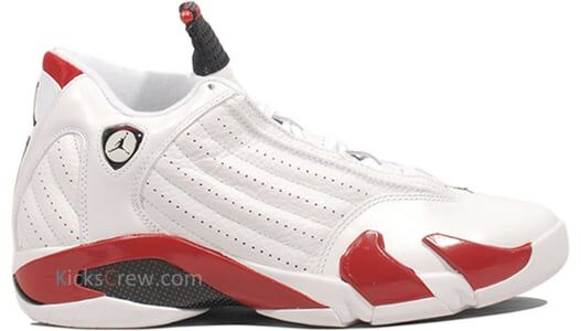 Air Jordan 14 Retro White Varsity Red 籃球鞋/運動鞋 (487471-101) 海外預訂