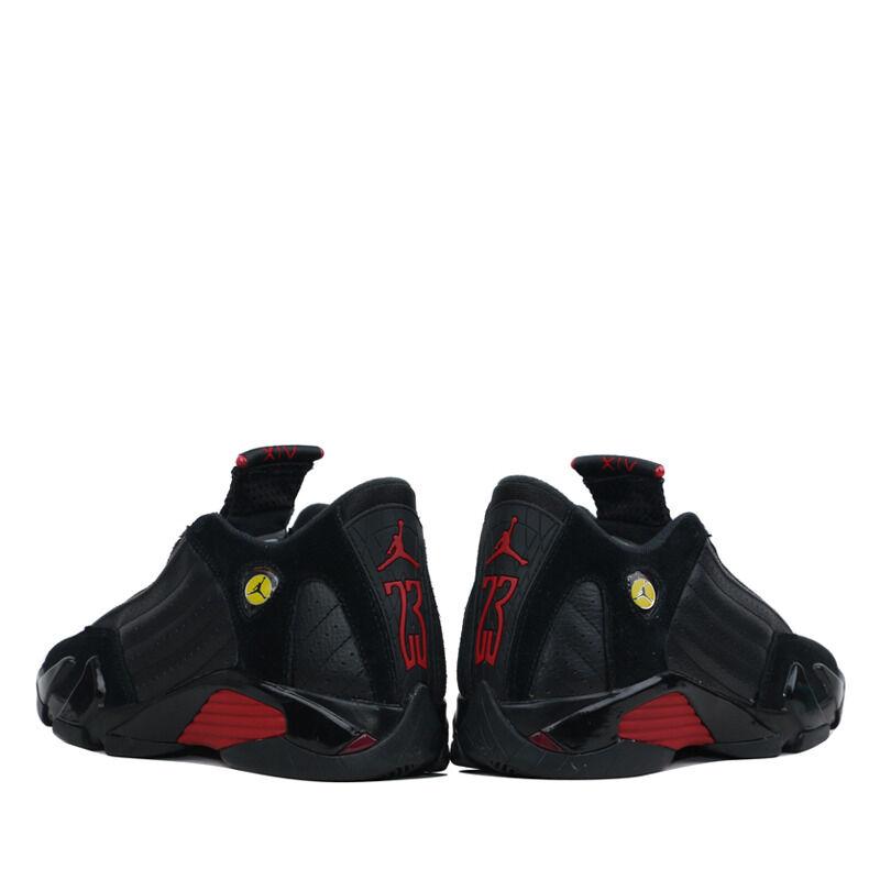Air Jordan 14 Retro GS Black Varsity Red 籃球鞋/運動鞋 (487524-003) 海外預訂