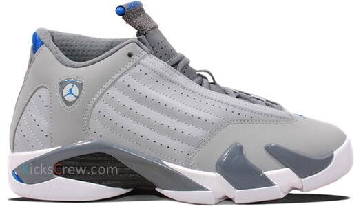 Air Jordan 14 Retro BG Wolf Grey 籃球鞋/運動鞋 (487524-004) 海外預訂