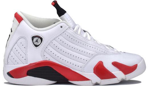 Air Jordan 14 Retro GS White Varsity Red 籃球鞋/運動鞋 (487524-100) 海外預訂