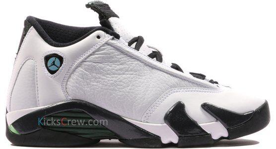 Air Jordan 14 Retro BG Oxidized Green 籃球鞋/運動鞋 (487524-106) 海外預訂