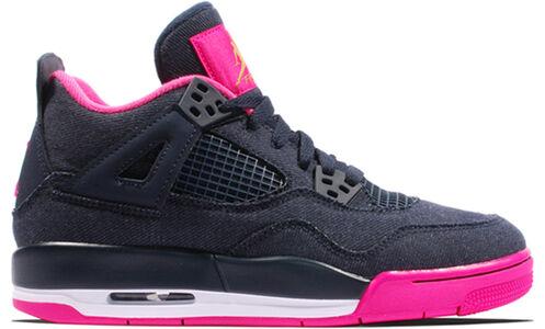 Air Jordan 4 Retro GG Denim 籃球鞋/運動鞋 (487724-408) 海外預訂