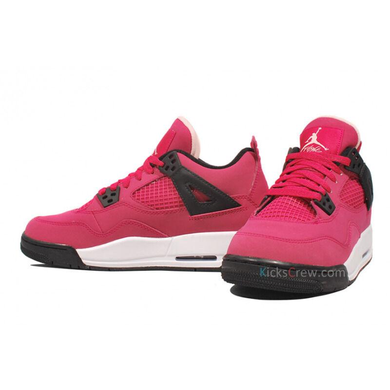 Girl Air Jordan 4 Retro GS Voltage Cherry 籃球鞋/運動鞋 (487724-601) 海外預訂