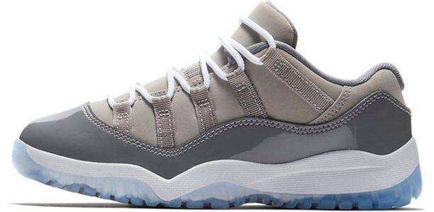 Jordan 11 Retro Low BP Cool Grey 籃球鞋/運動鞋 (505835-003) 海外預訂
