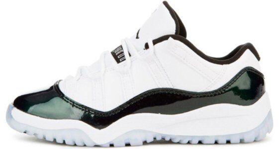 Air Jordan 11 Retro Low PS 'Emerald' white/black-emerald rise 籃球鞋/運動鞋 (505835-145) 海外預訂