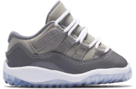 Air Jordan 11 Retro Low BT 'Cool Grey' Medium Grey/White-Gunsmoke 籃球鞋/運動鞋 (505836-003) 海外預訂