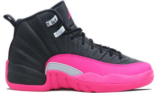Air Jordan 12 Retro GS Black Deadly Pink 籃球鞋/運動鞋 (510815-026) 海外預訂