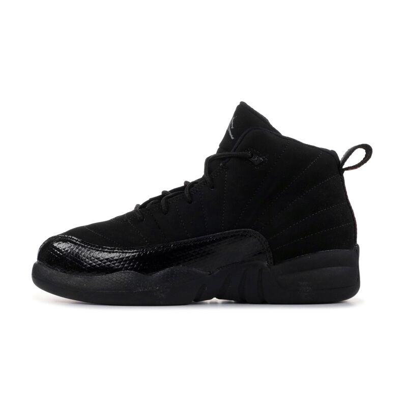 Jordan 12 Retro PS Black 籃球鞋/運動鞋 (510816-006) 海外預訂