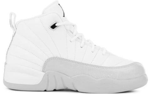 Air Jordan 12 PS 'Light Aqua' White/Light Aqua-Black 籃球鞋/運動鞋 (510816-100) 海外預訂