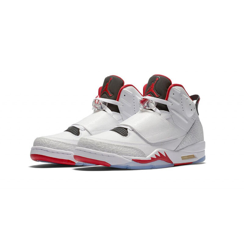 Air Jordan Son of Mars 'Fire Red' White/Gym Red-Black-Pure Platinum 跑步鞋/運動鞋 (512245-112) 海外預訂
