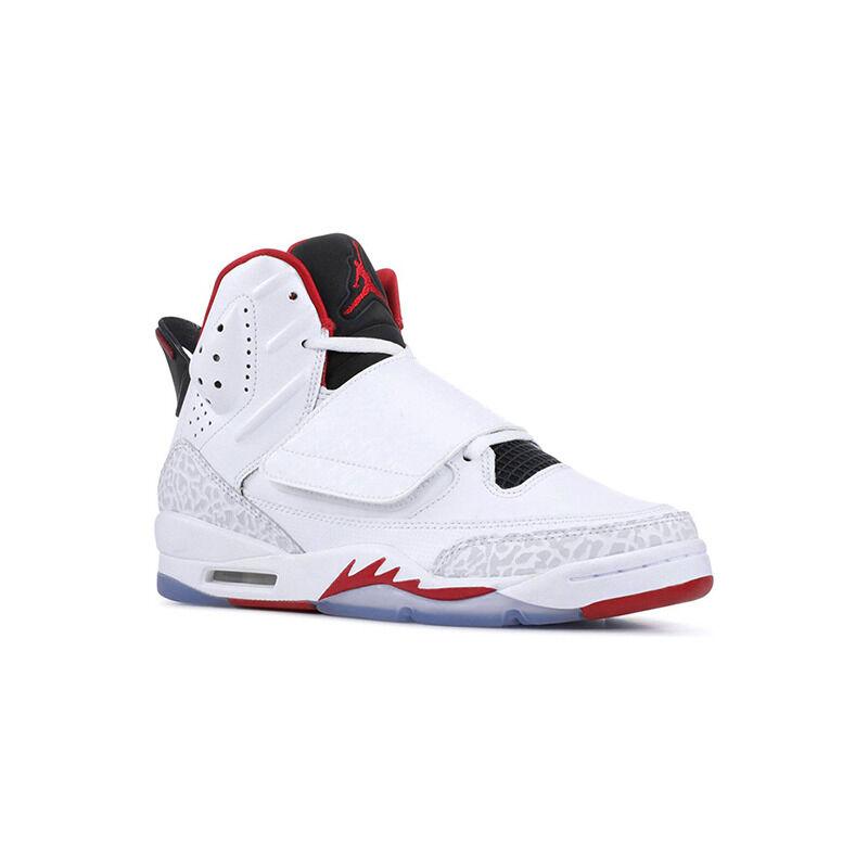 Jordan Son of Mars BG White/Gym Red-Black 跑步鞋/運動鞋 (512246-112) 海外預訂