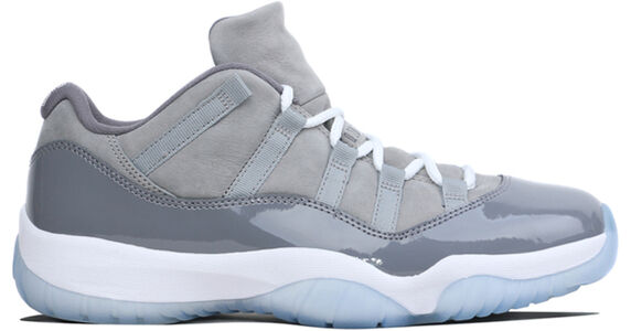 Air Jordan 11 Retro Low Cool Grey 籃球鞋/運動鞋 (528895-003) 海外預訂