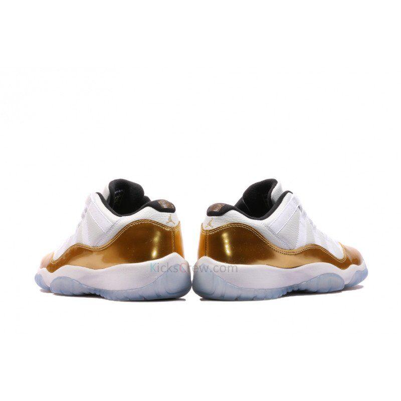 Air Jordan 11 Retro Low GS White Gold Olympic 籃球鞋/運動鞋 (528896-103) 海外預訂