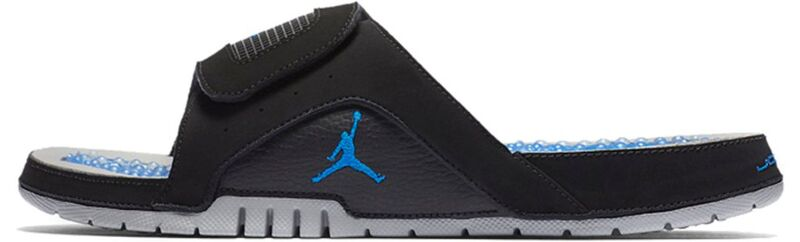 Jordan Hydro IV Retro Black Blue Beach & Pool Slides/Slippers (532225-004) 海外預訂
