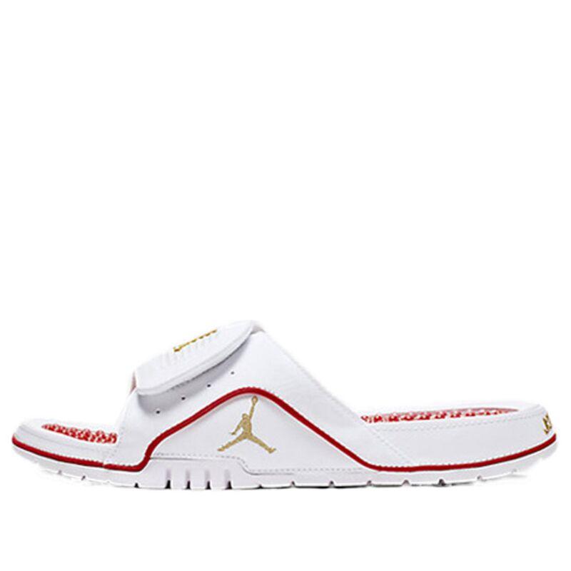Air Jordan Hydro 4 Retro Beach & Pool Slides/Slippers (532225-117) 海外預訂