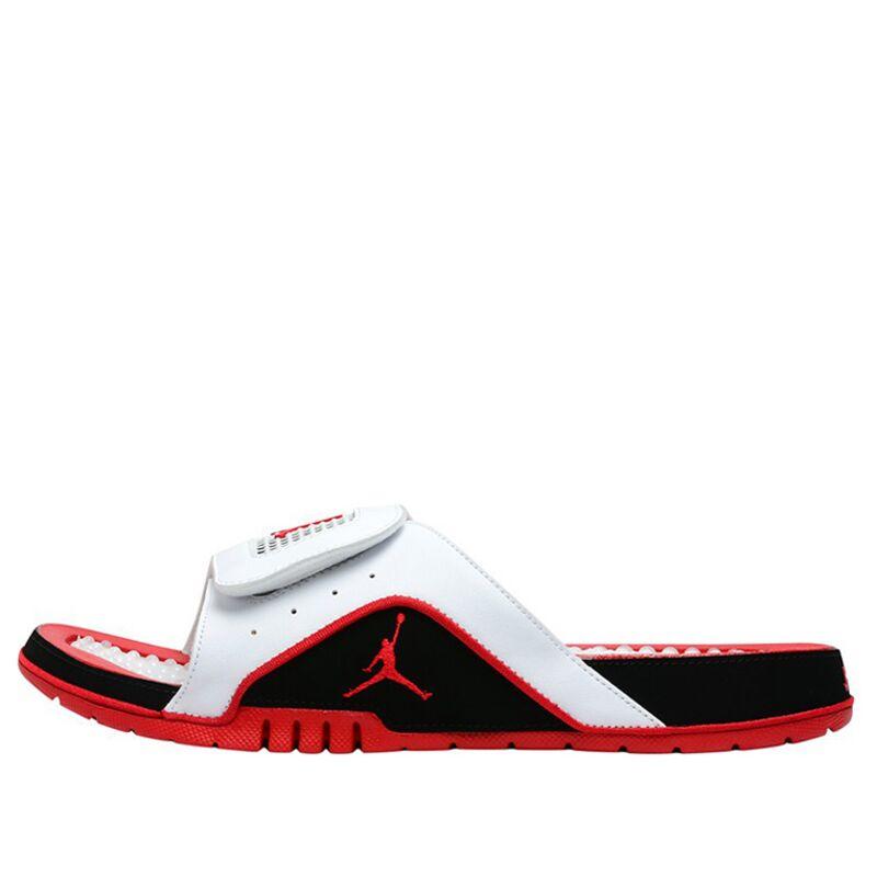Jordan Hydro IV Retro White Red Beach & Pool Slides/Slippers (532225-160) 海外預訂