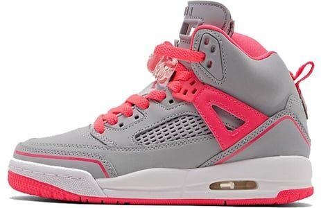 Jordan Spizike'Wolf Grey Racer Pink' GS Wolf Grey/Racer Pink/White 籃球鞋/運動鞋 (535712-060) 海外預訂