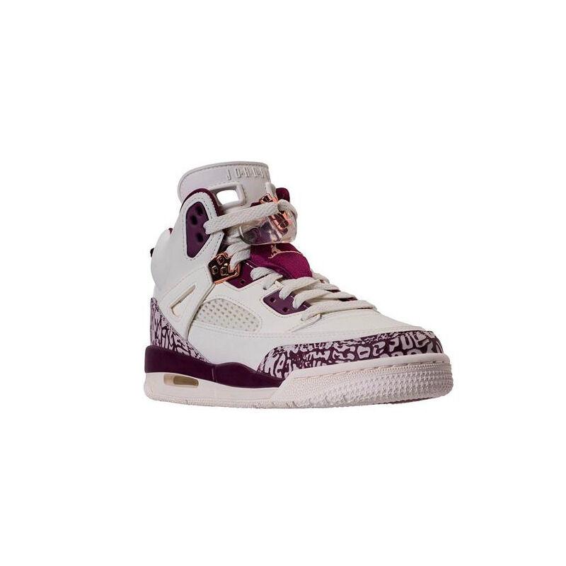 Jordan Spizike'Bordeaux' GS Sail/Bordeaux-Metallic Red Bronze 籃球鞋/運動鞋 (535712-132) 海外預訂